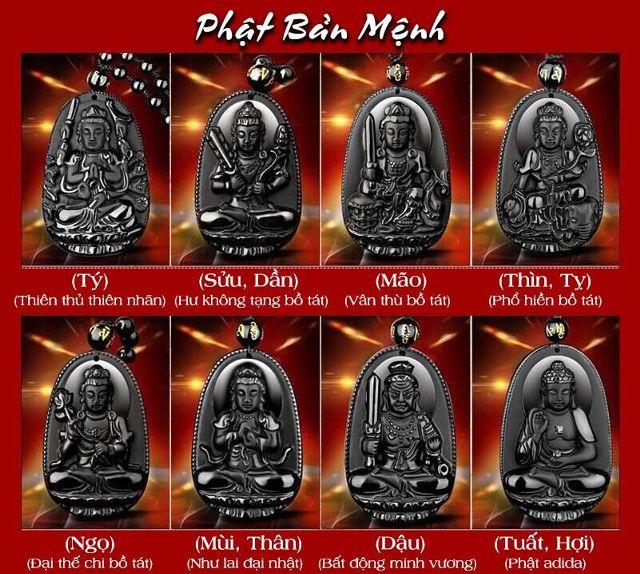 Phật Bản Mệnh Cho 12 Con Giáp