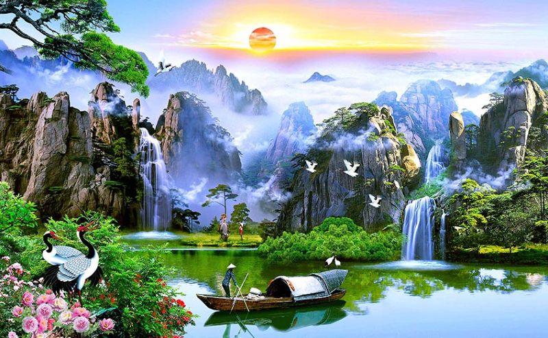 Tranh Phong Thủy Treo Phong Khách