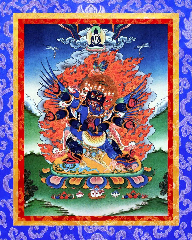 Đức Bổn Tôn Phổ Ba Kim Cang