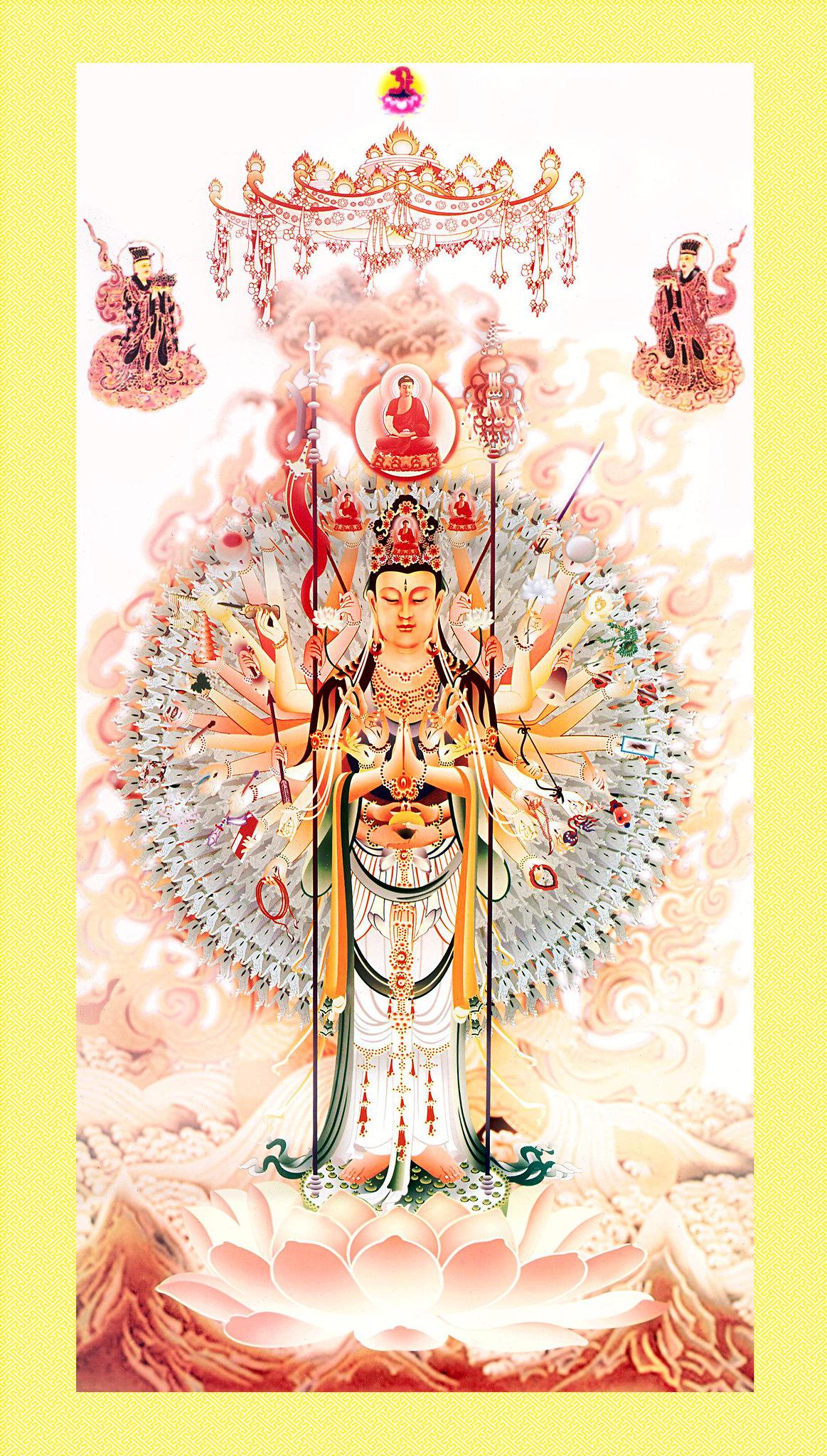 Thiên Thủ Thiên Nhãn - Vị Phật Bản Mệnh Tuổi Tý