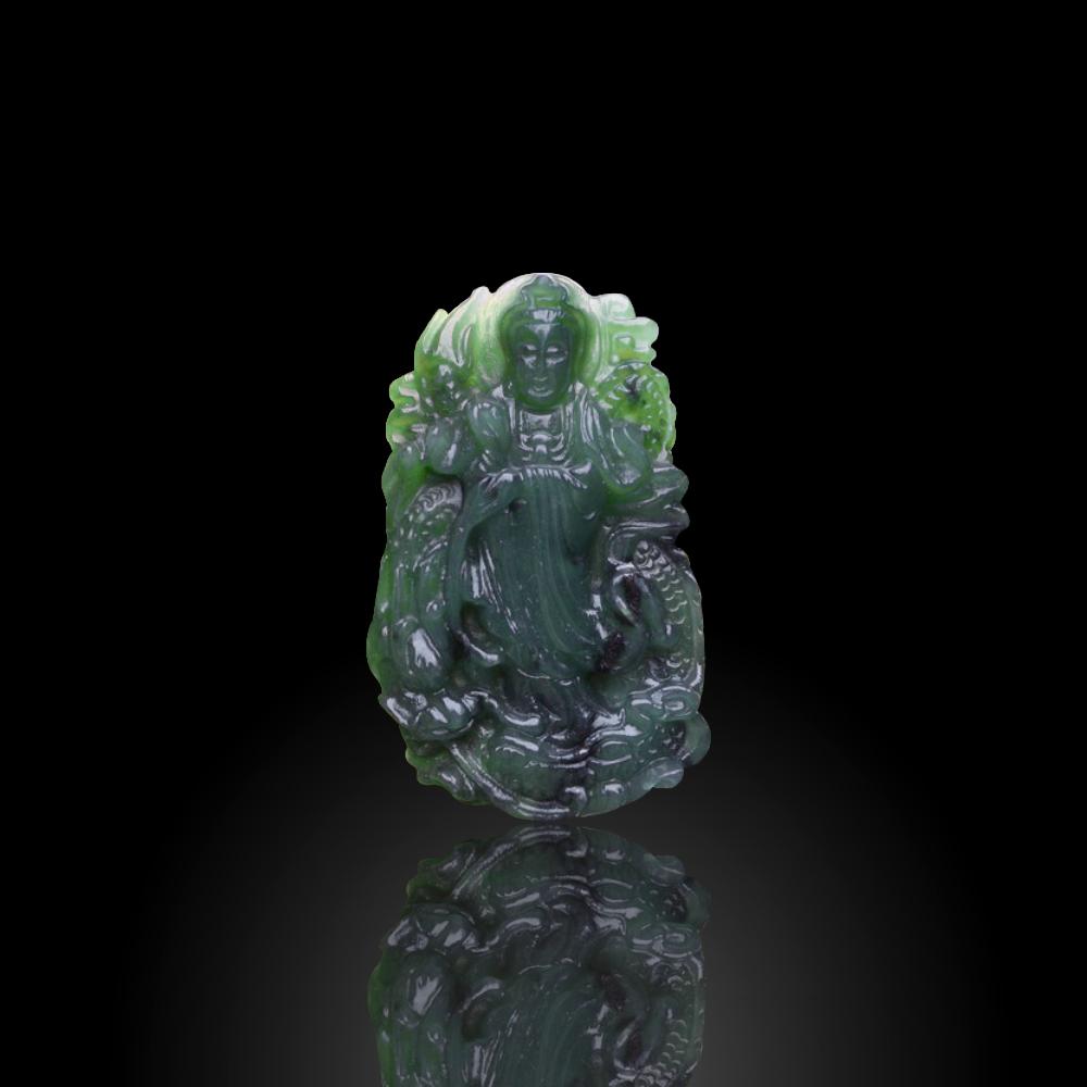 Phật Bà Quan Âm Đá Ngọc Bích
